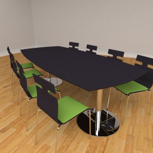 Fazet mødebord - 8 personer