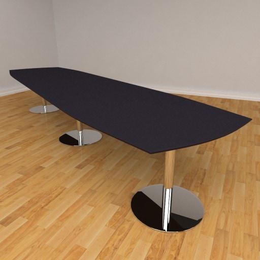 Fazet mødebord – 16 personers