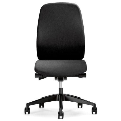 FFønix KontorstolFønix - Kontorstol er en kontorstol med synkront vip. Det betyder, at kontorstolens ryg og sæde bevæger sig samtidigt - synkront, hvilket giver god støtte i alle kontorstolens positioner. Bevægeligheden gør, at du ikke bliver så træt i længden.Du kan indstille stolehøjde, ryglænshøjde. Sædet kan også justeres således, at det hælder op til 4 grader, hvilket giver en god bækkenstøtte og sikrer optimal siddekomfort.Endelig har kontorstolen lændestøtte, der sikrer optimal rygsupport.Sæde i Mahatten stof (bedre end standard)Højde reguleringSynkront vibVib fjeder styrke reguleringSædevinkel reguleringSædedybde indstillingLændestøtte reguleringBløde hjul er standardDer er 5 års garanti på kontorstolenArmlæn kan til købes. Fønix fås standard med sort stof.Endelig har kontorstolen lændestøtte, der sikrer optimal rygsupport.* Sæde i Mahatten stof (bedre end standard)* Højde regulering* Synkront vip* Vip fjeder styrke regulering* Sædevinkel regulering* Lændestøtte regulering* Bløde hjul er standardDer er 5 års garanti på kontorstolenArmlæn kan til købes. Fønix fås standard med sort stof.