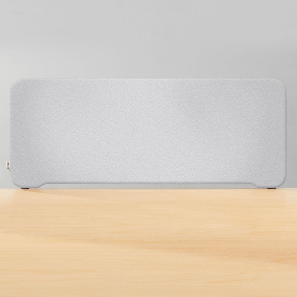 Topmonteret Skrivebordskærm - 40*180 cm.