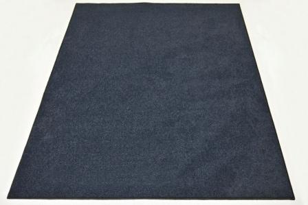 Sort tæppe 200*180 cm