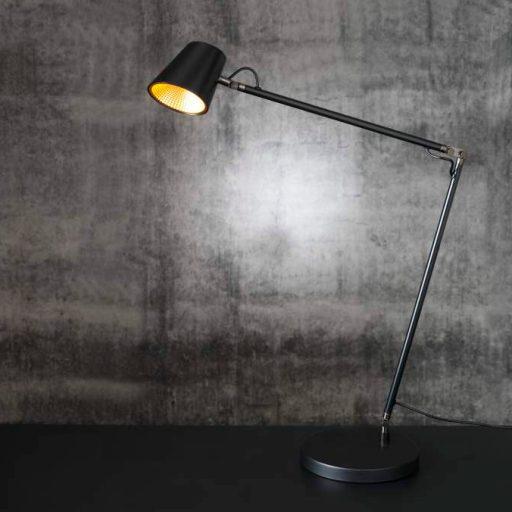 Tokyo Skrivebordslampe sort - LED