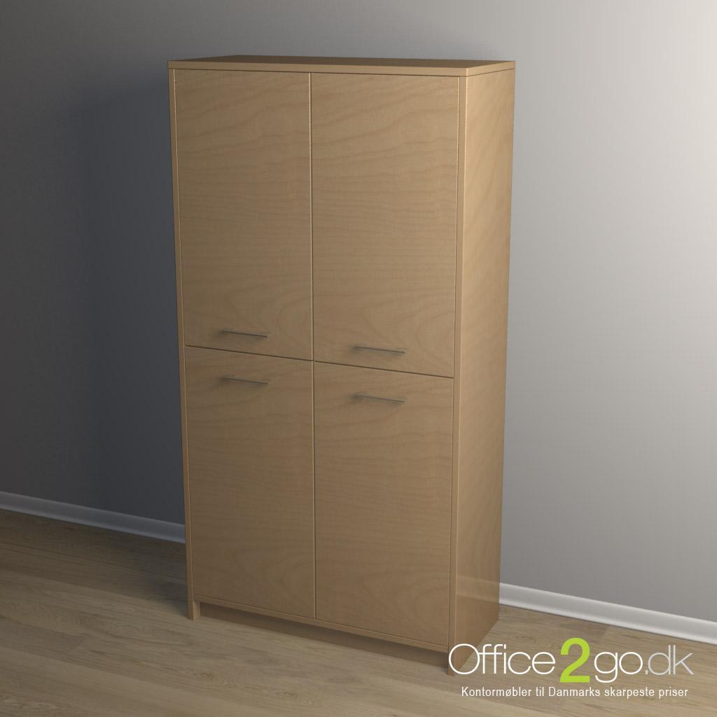 Jive 4-fags Dørsæt til Reol
