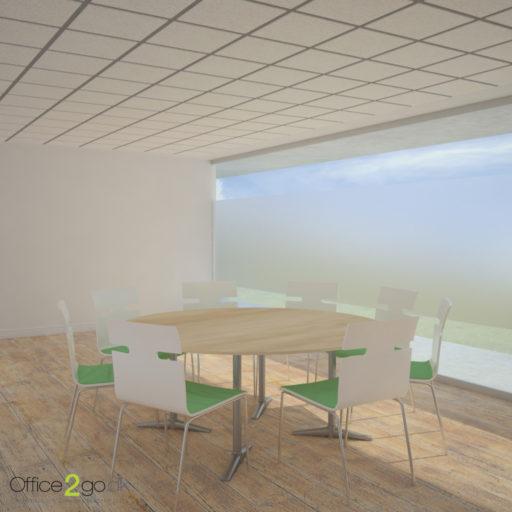 Switch mødebord - 8 personer - Ø180 cm