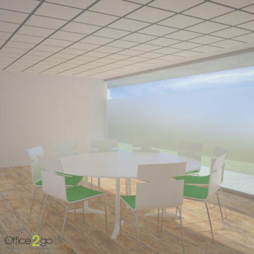 Switch mødebord - 9 personer - Ø200 cm