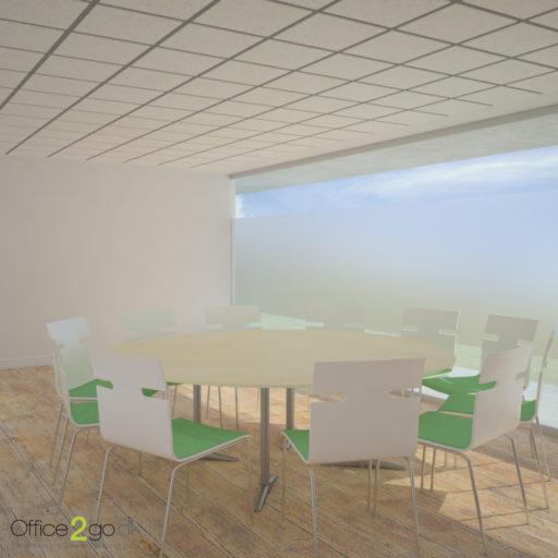 Switch mødebord - 11 personer - Ø220 cm