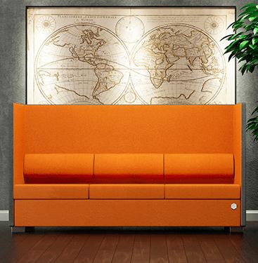 Private line sofa - høj - thumbnail