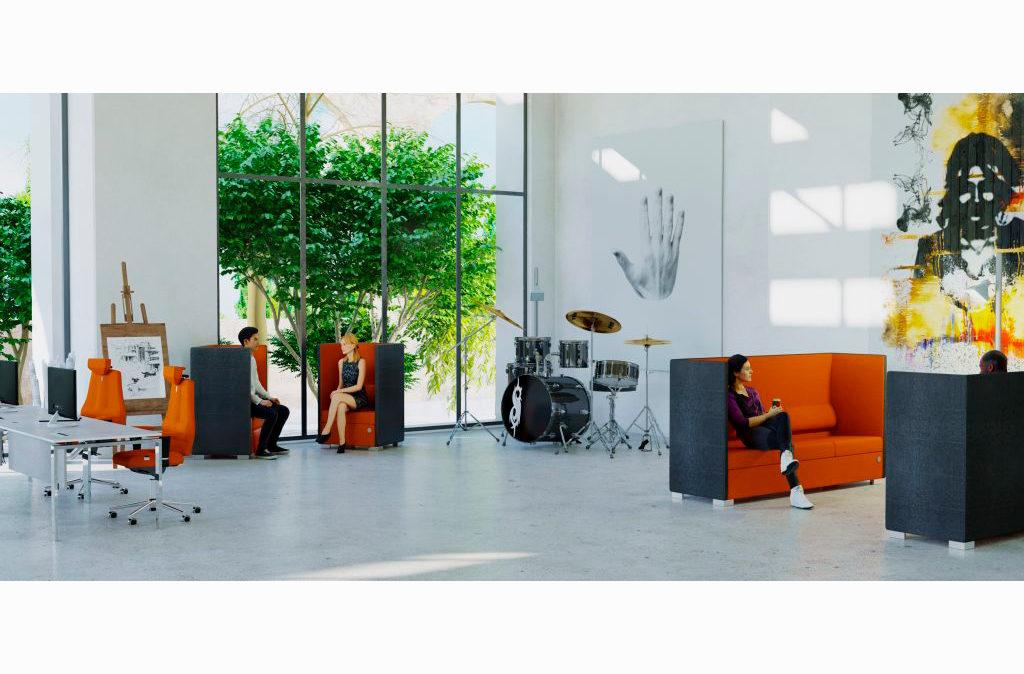 onference line sofa - høj miljø