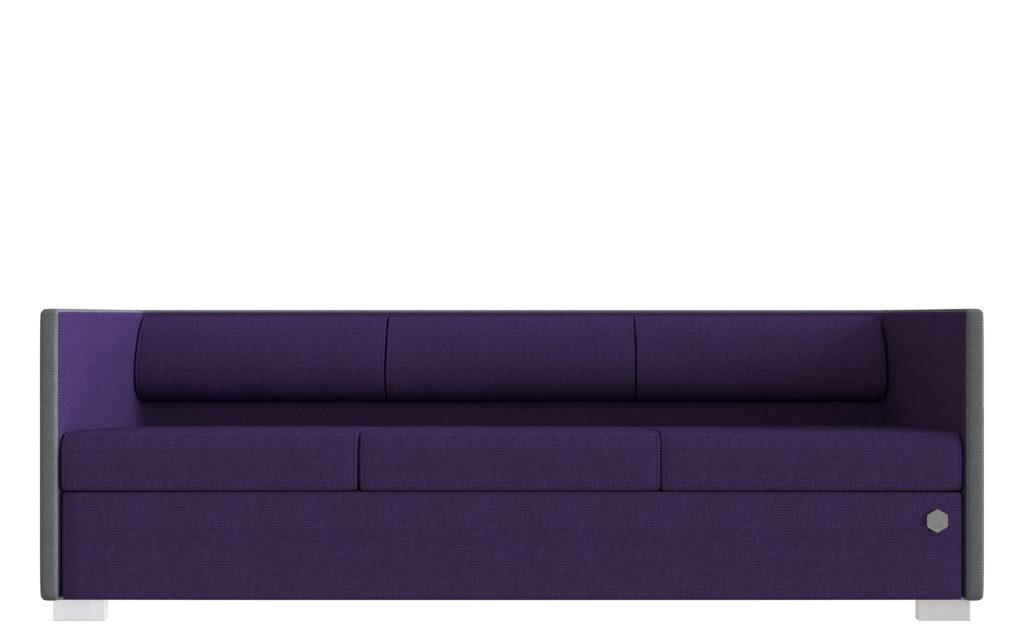 Lounge 3 - grå - violet