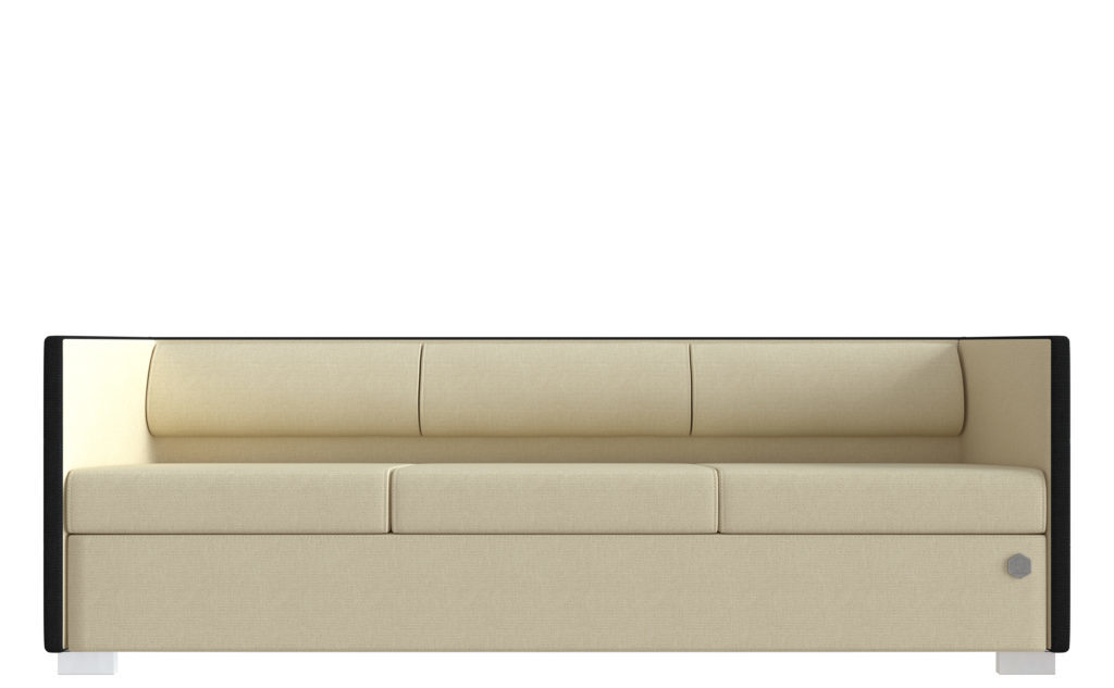 Lounge 3 - sort - cream