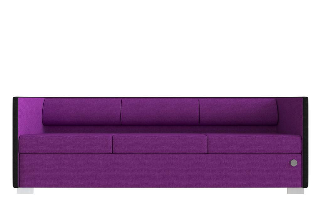 Lounge 3 - sort - pink