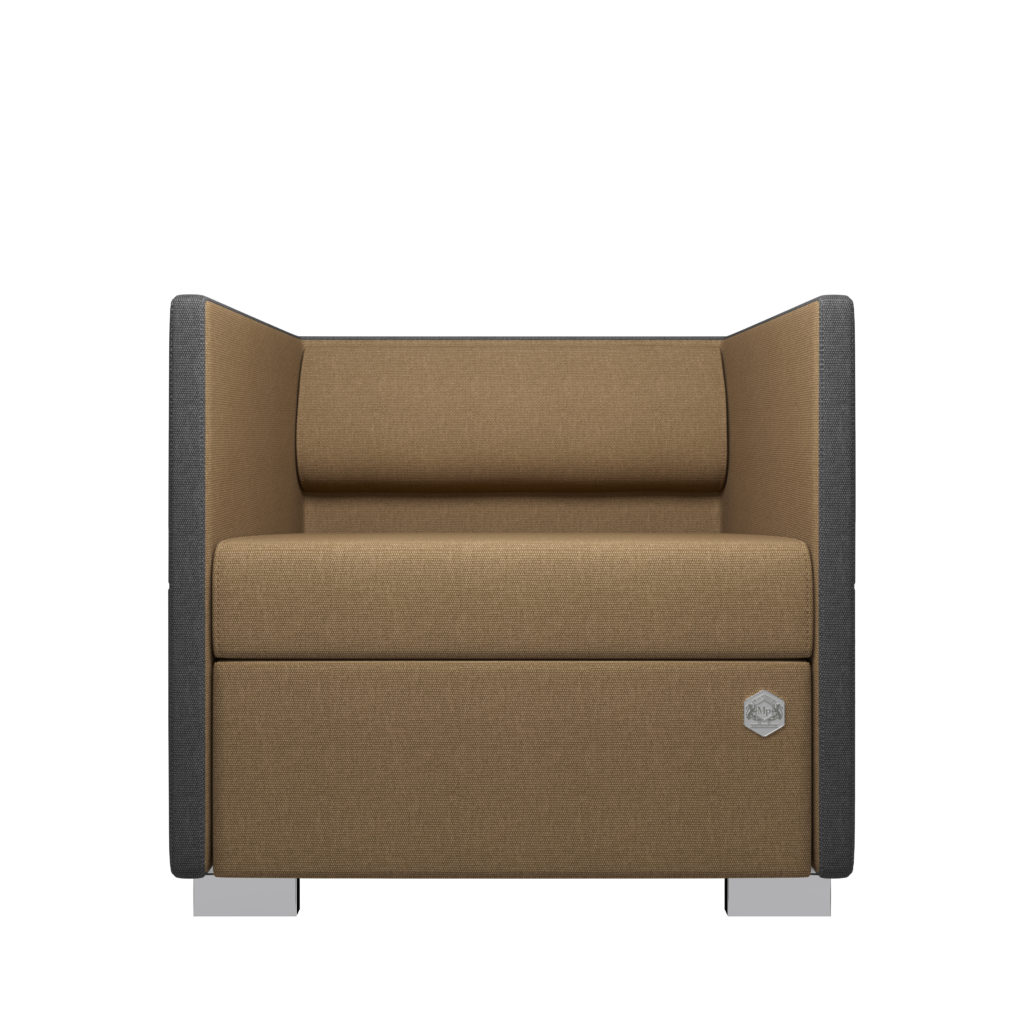 Lounge 1 - grå - bronze