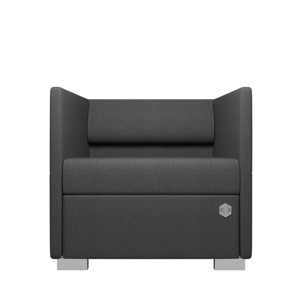 Lounge 1 - grå - grå