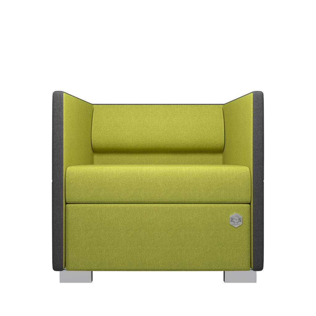 Lounge 1 - grå - olive