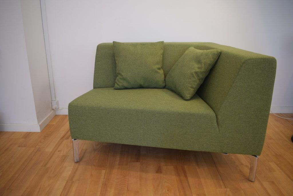 Interstuhl TANGRAM sofa grøn - Udstillingsmodel.