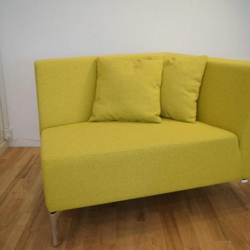 Interstuhl TANGRAM sofa gul - Udstillingsmodel.