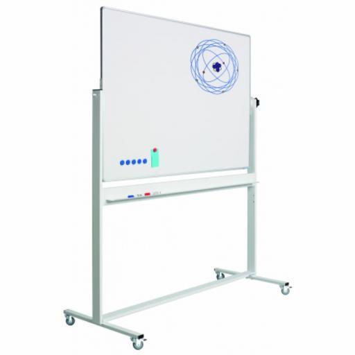 Mobile whiteboard tavle Softline - magnetisk overflade