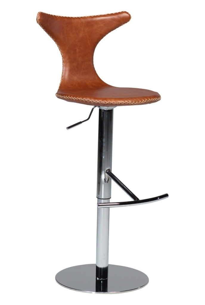 Dolphin højstol rund base
