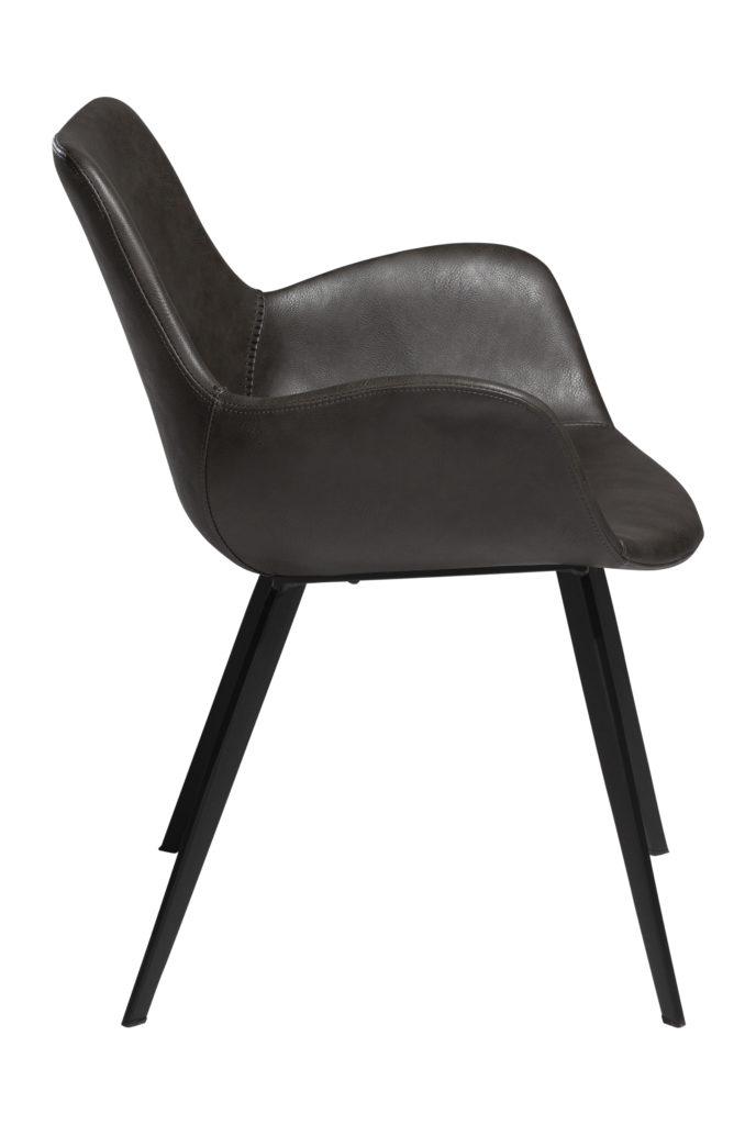 Hype med armlæn gæste/mødebordsstol