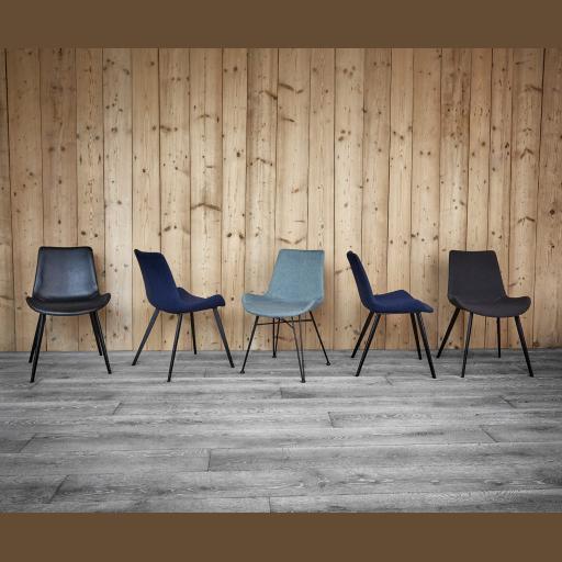 Pitch gæste/mødebordsstol