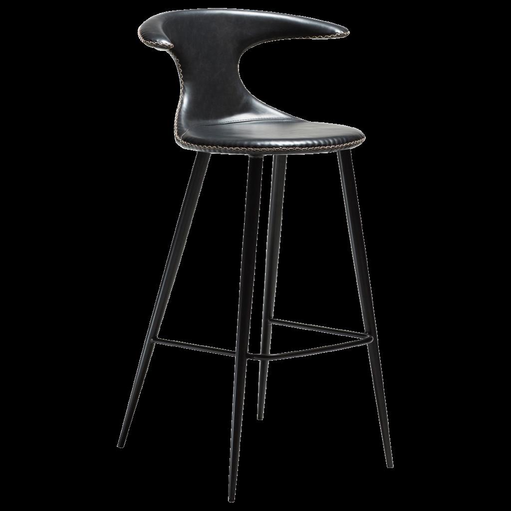 Flair højstol med sorte ben