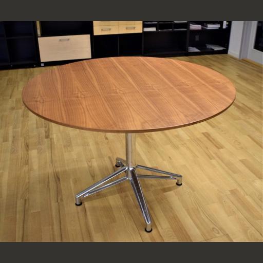Interstuhl mødebord - 5 personer - Ø 110 cm. Udstillingsmodel