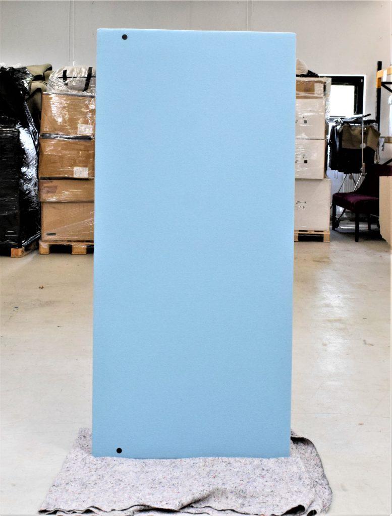 Modus fleksibel Skrivebordskærm - 160*74 cm. - Mint/Rød
