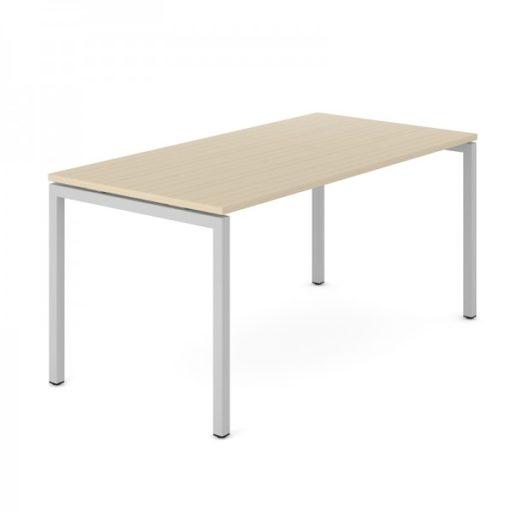 Nova Skrivebord - 180*80 cm - sorte ben/sort bordplade - udstillingsmodel