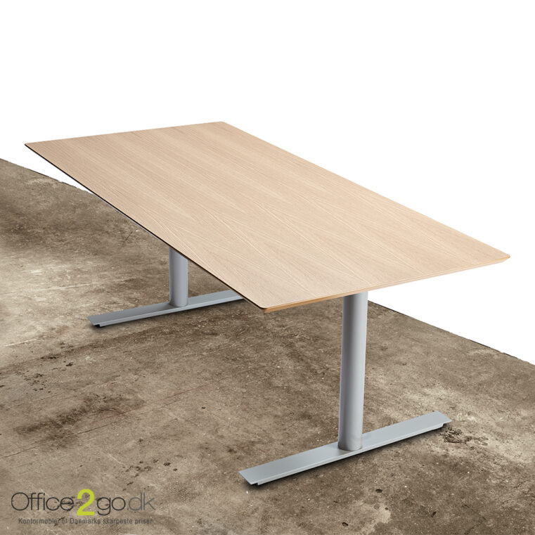 InLine hævesænkebord - med gråt stel