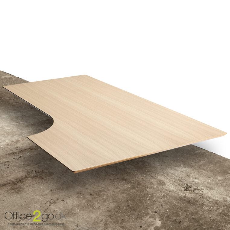 1 stk - Eg finer - Combi skrivebordsplade - SPAR 50%