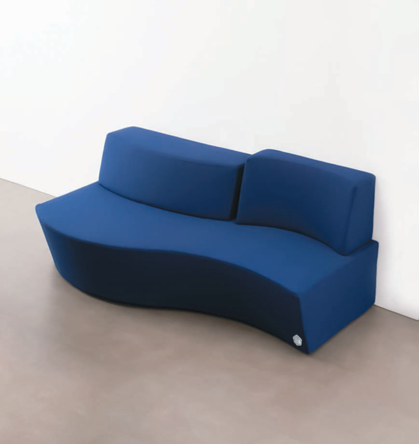 Image of Aqua sofa