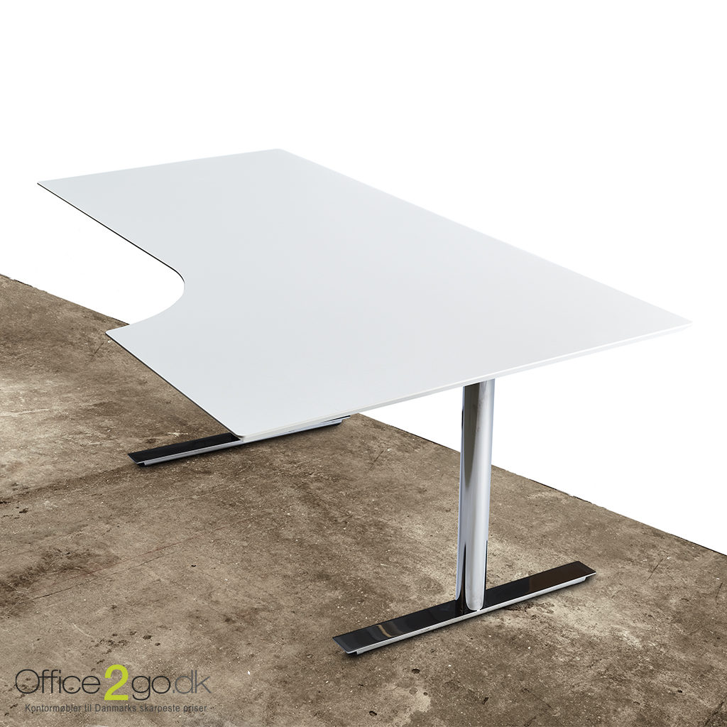 InLine hævesænkebord - med krom stel