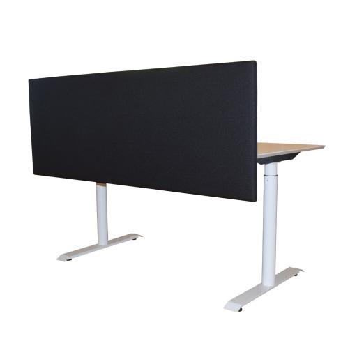 1 stk - Vildika frontmonteret akustisk skrivebordskærm 160*60 cm - SPAR 78 %