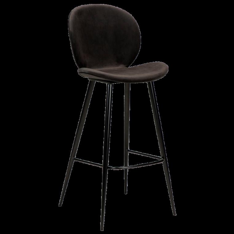 Cloud højstol med sorte ben