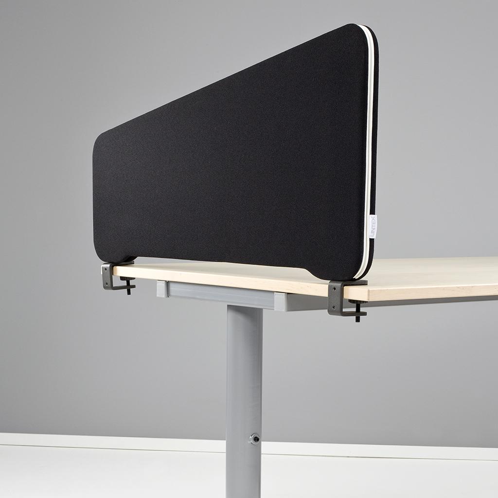 1 stk - Lintex Topmonteret sidebordsskærm - 80*40 cm - SPAR 90 %