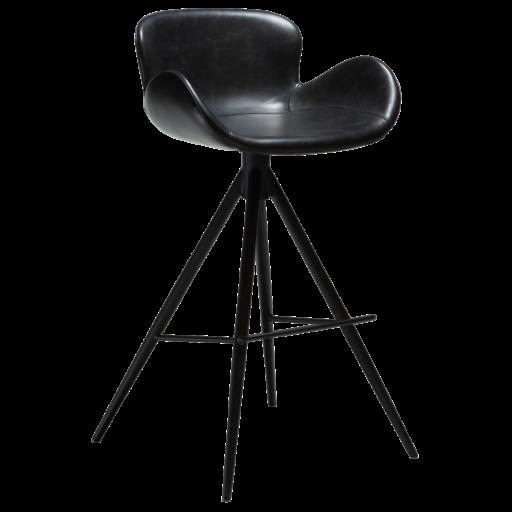 Gaia højstol med sorte ben