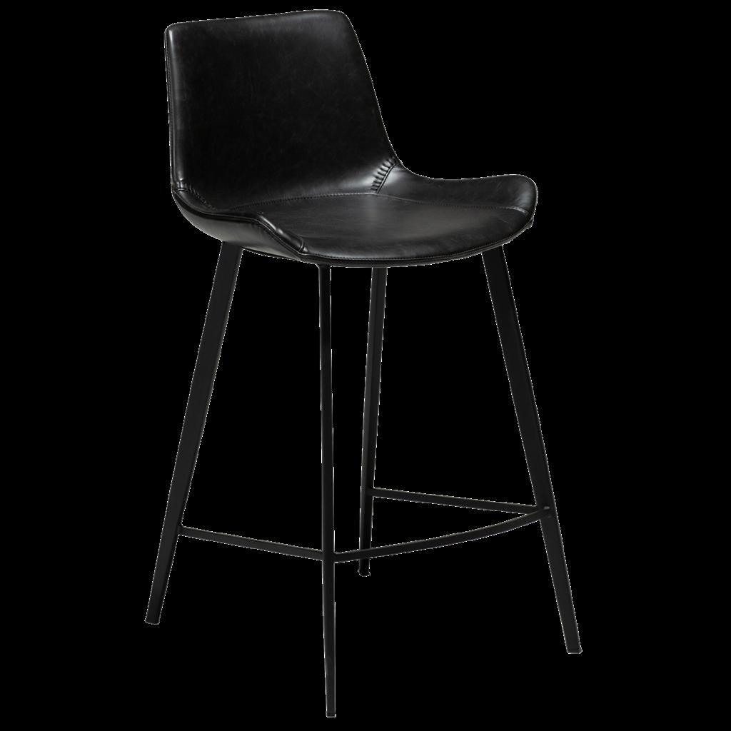 Hype højstol med sorte ben