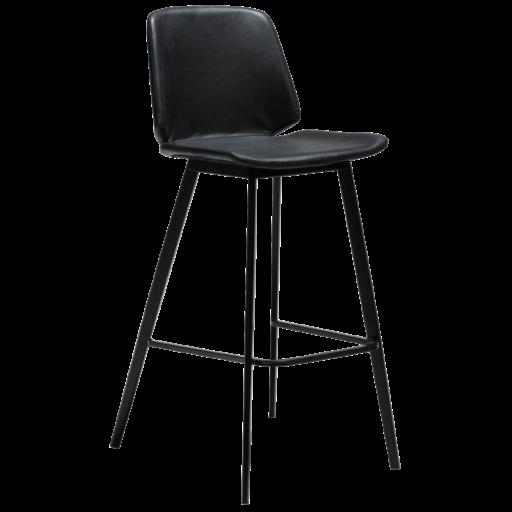 Swing højstol med sorte ben