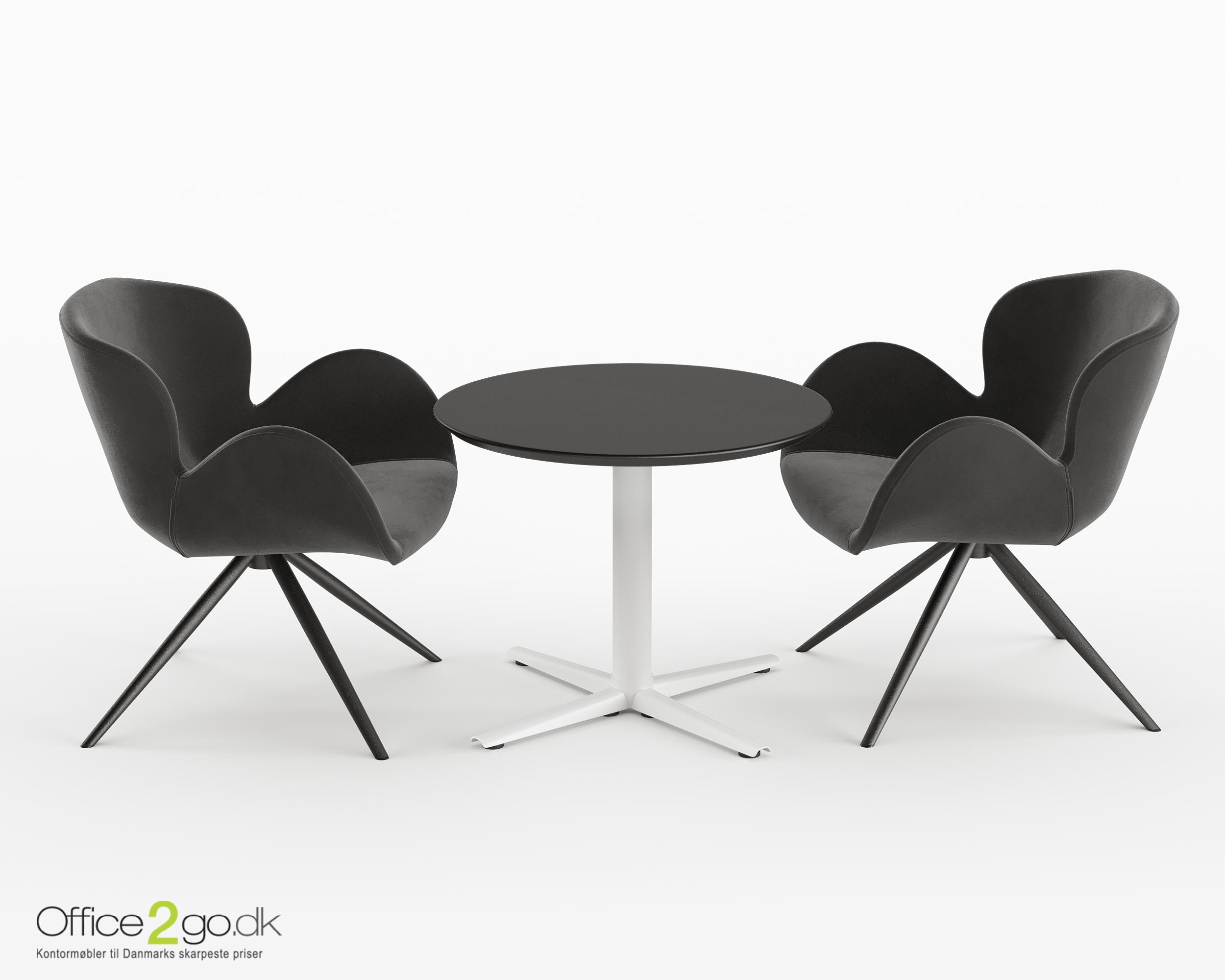 Switch mødebord - 2 personer - Ø 70 cm.