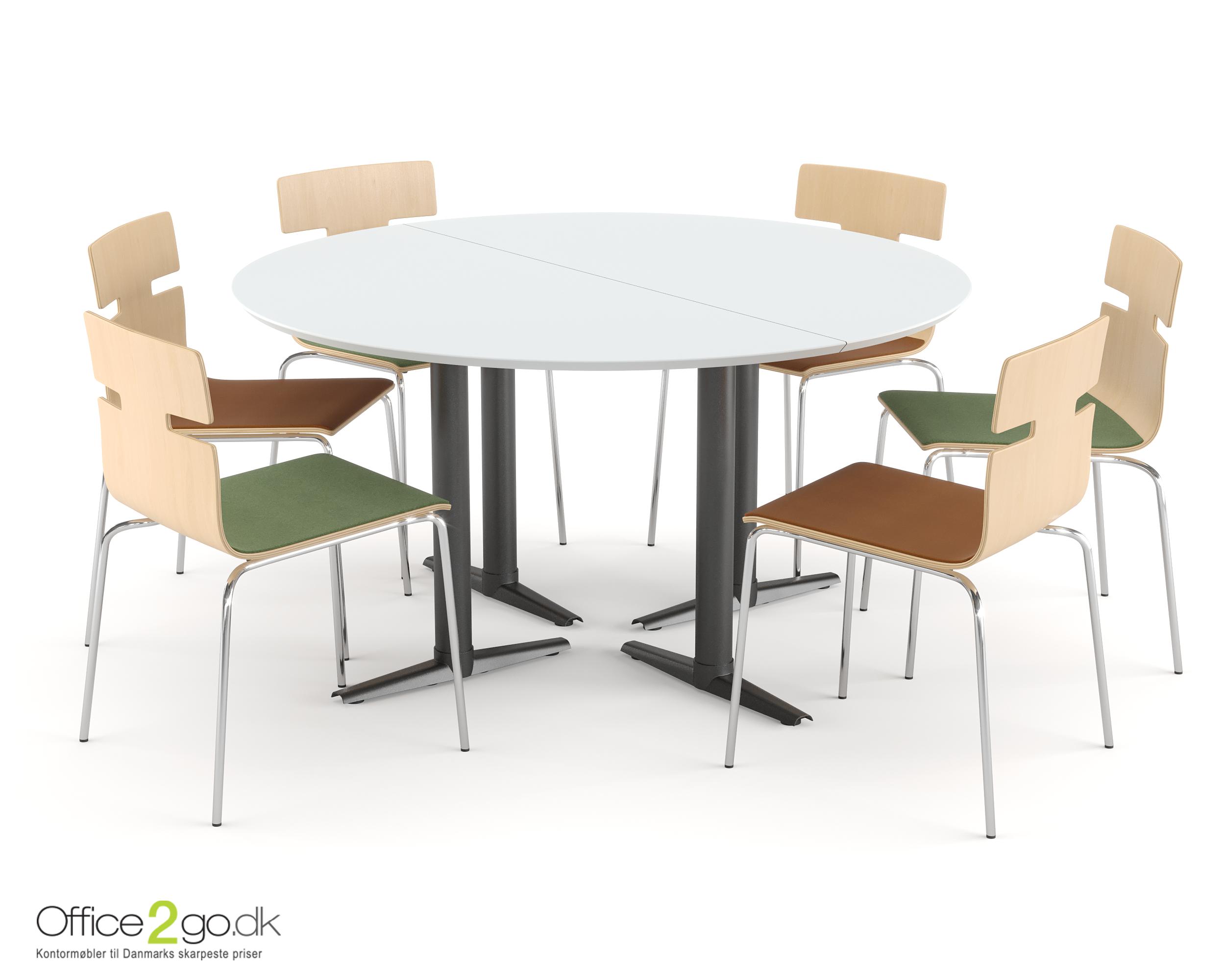 Switch mødebord - 6 personer - Ø 140 cm
