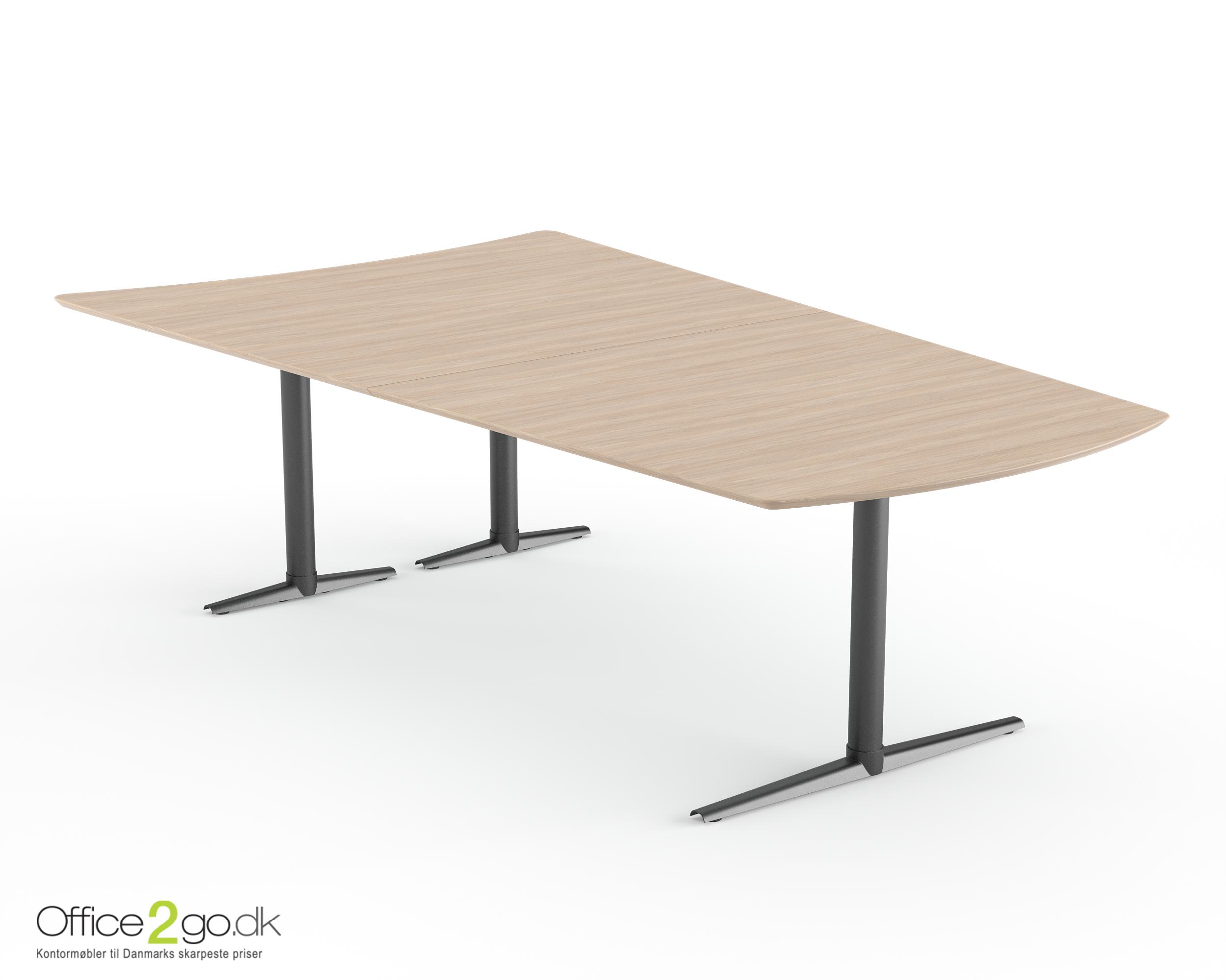 Switch Media mødebord - 8 personer - 250 cm.