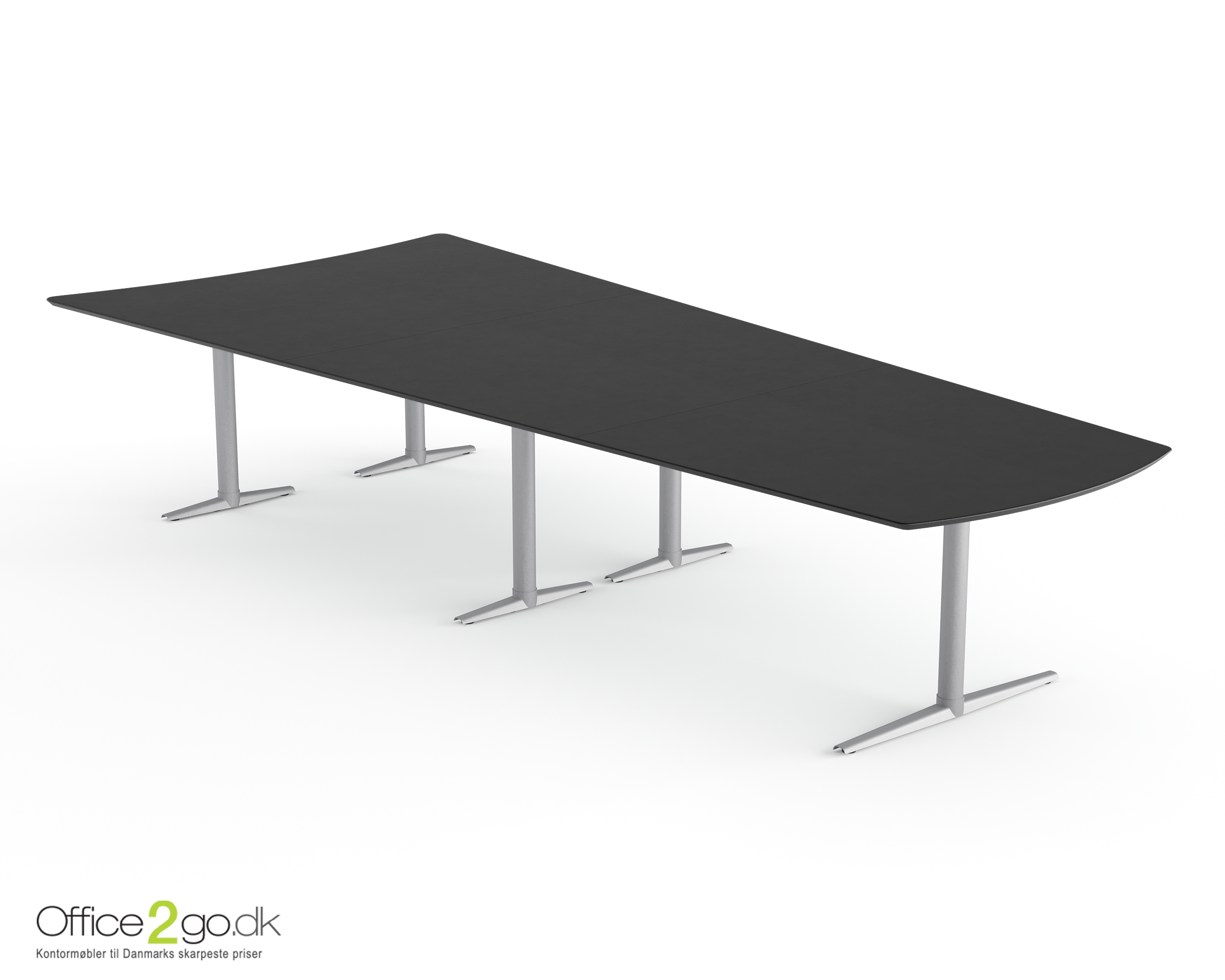 Switch Media mødebord - 12 personer - 375 cm.