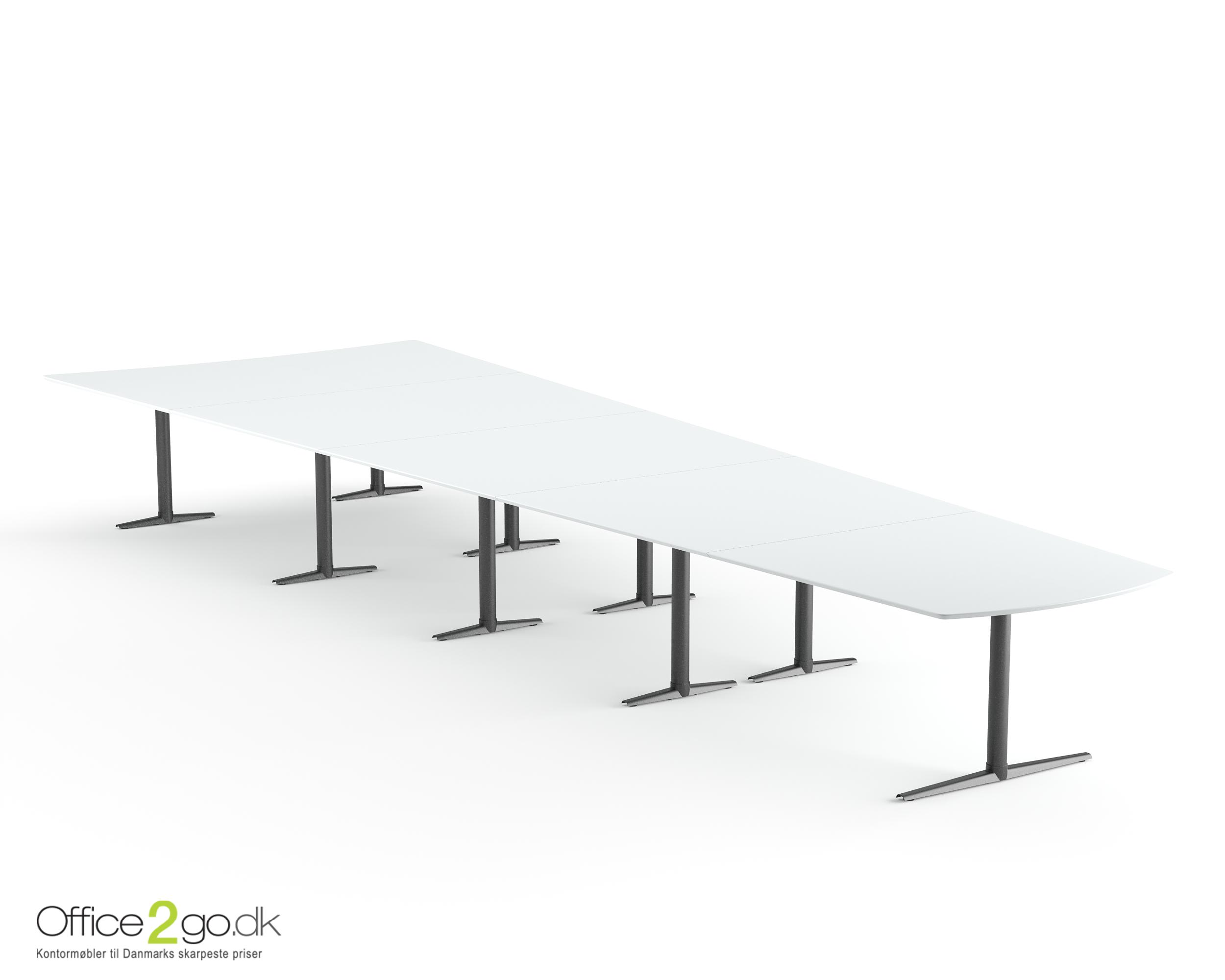 Switch Media mødebord - 20 personer - 625 cm.