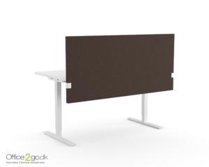 Modus justerbar Skrivebordskærm - 74 cm høj.
