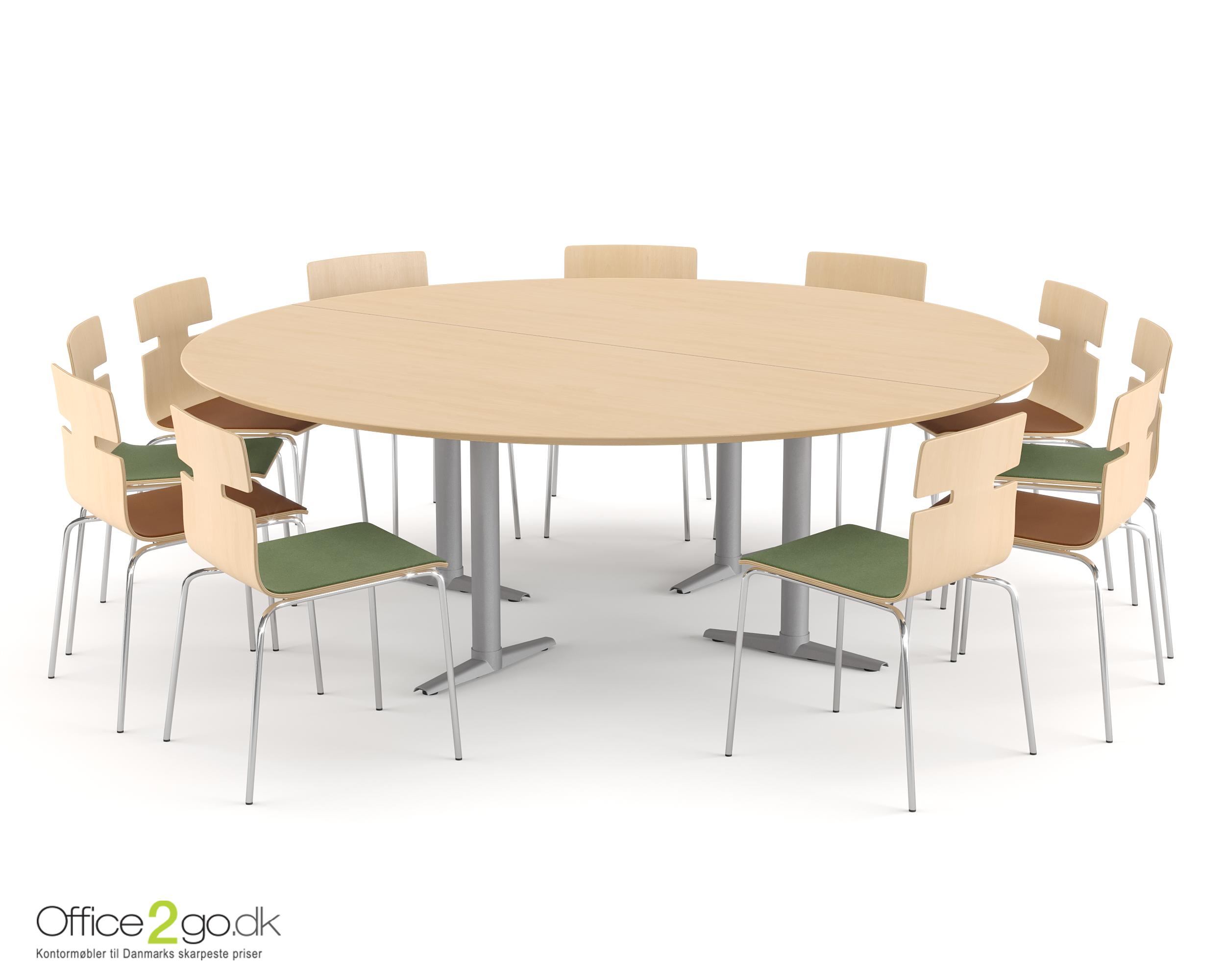 Switch mødebord - 11 personer - Ø 220 cm