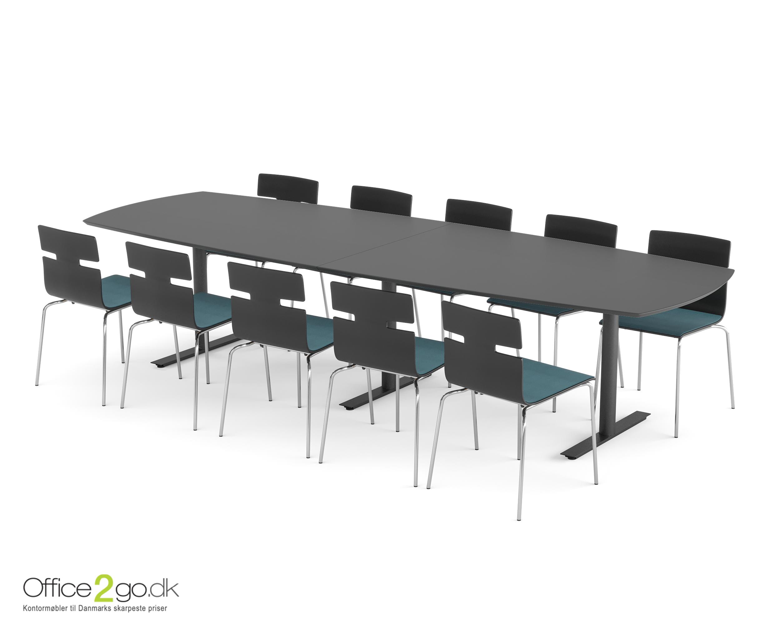 InLine mødebord - 10-12 personer - 320 cm.