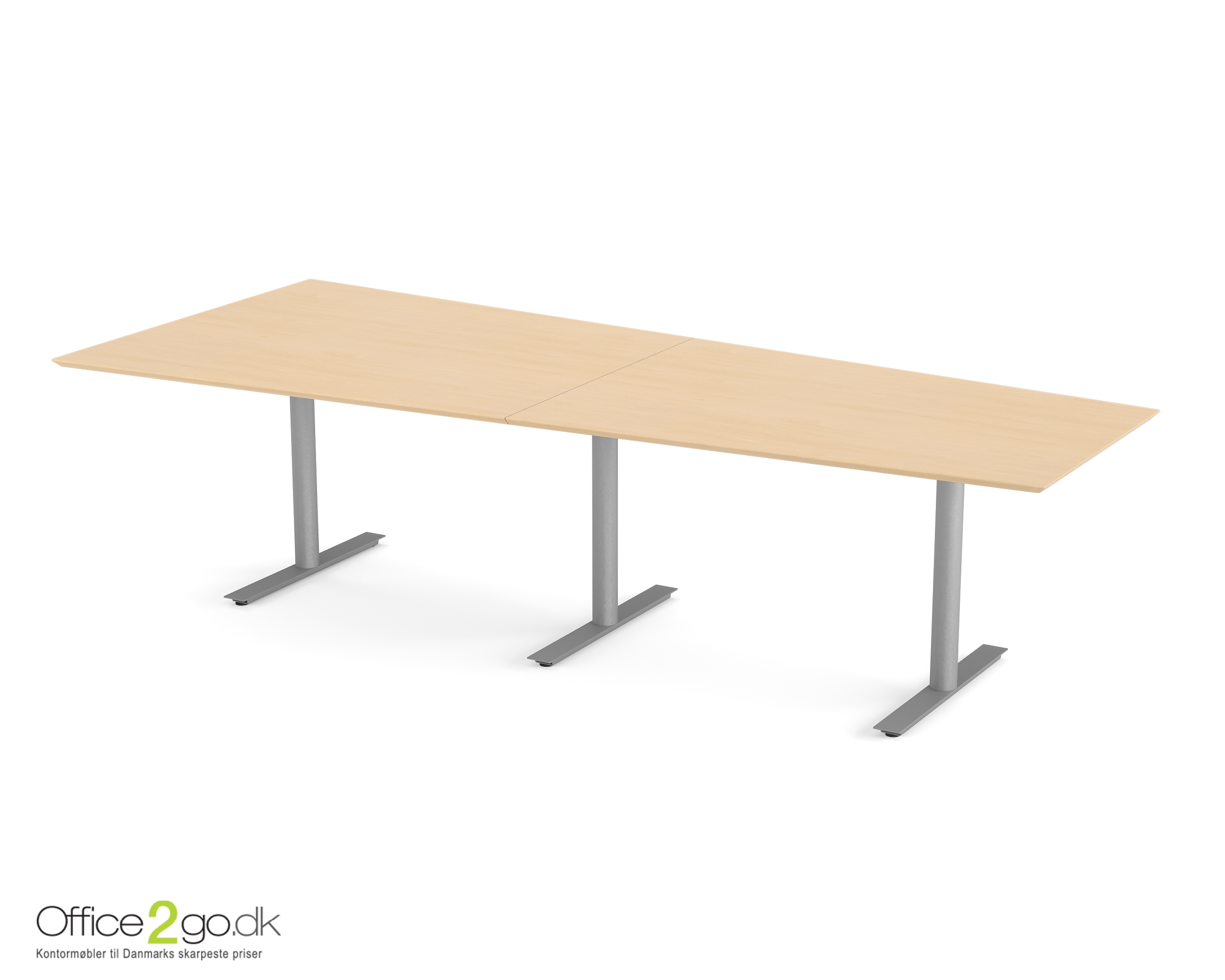 Inline Media mødebord - 8 personer - 280 cm.