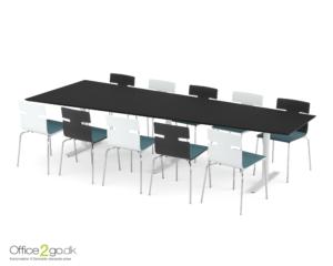 Inline Media mødebord - 10 personer - 320 cm.
