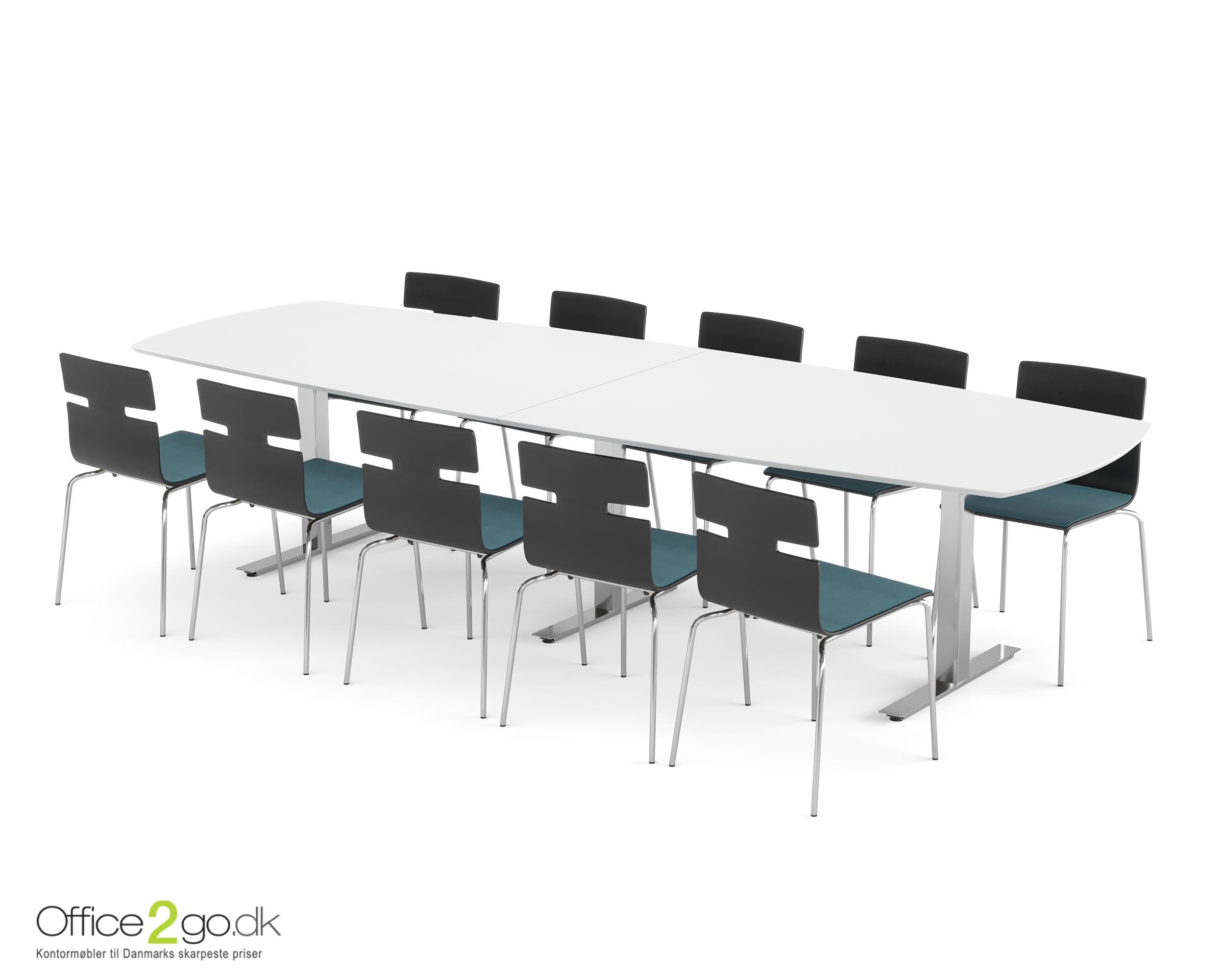 Square mødebord - 10-12 personer - 320 cm.