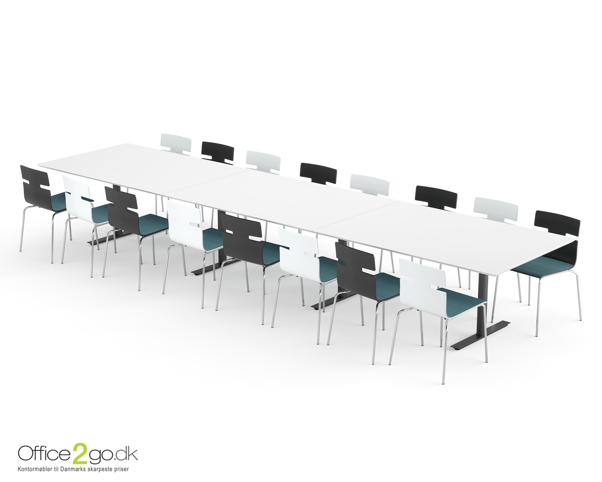 InLine mødebord - 16-18 personer - 480 cm.